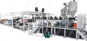 China Thermoforming Packaging Plastic Sheet Extrusion Line 160 Kw Stable Running on sale