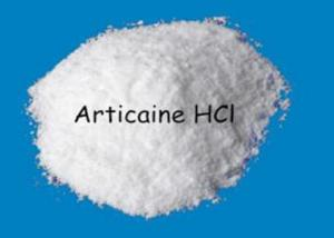 China Aarticaine Hydrochloride 23964-57-0 Local Anesthetic Agents Aarticaine HCl Pain Killer on sale