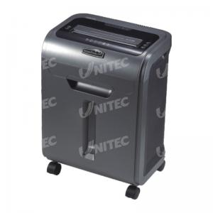 China Croos Cut A4 Silent Office Paper Shredder Machine With See Through Window on sale
