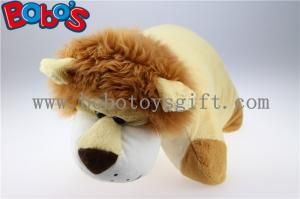China Pillow Decorative Pillows in Plush Stuffed Lion Toy Shape on sale