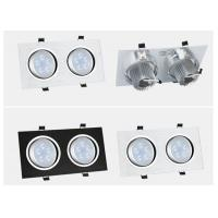 China 7W 15W Square Led Pot Lights , Professional 12w Led Downlight Fixture on sale