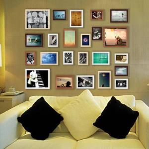 China Photo Frame Wall Decals Removable Memories Stickers Decor Art Mural Wall Sticker Home on sale