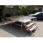 China Lightweight Unique Layer Aluminum Truss Stage Folding Heavy Load Capacity wholesale