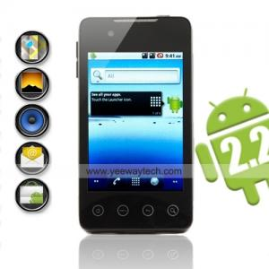 China  Hero G9 - Dual SIM Android 2.2 Cell Phone w/ 3.5 Inch Touchscreen + WiFi on sale