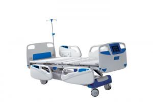 China Medical Equipment Electric Hospital Patient Bed With Weight Scale Function for ICU on sale