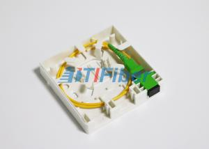 China 2 Port SC LC Fiber Pigtails And Fiber Adapters For Fiber Optic Distribution Box on sale