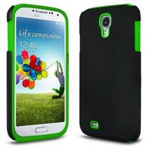 China Samsung Galaxy S4 Protective Cell Phone Cases , Solid PC Silicone Combo Protective Cover on sale