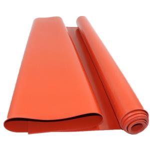 China UL Platinum Cured 50mm Thickness High Temperature Silicone Sheet on sale