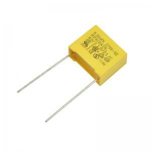 China Metallized Polypropylene Film Capacitor Class X2 on sale