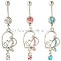 Crystal Belly Button Rings Piercing / sexy belly button rings
