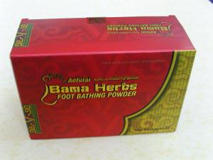 China Foot Bathing Powder Bama Herbs For Rheumatism And Body Pain on sale