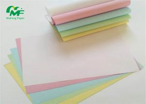 China 76*76mm  76*70mm 57*60mm 57*50mm normal size Carbonless paper NCR Paper on sale
