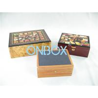 Luxury Gifts Packaging Painted Wooden Boxes For Cigar , Watch , Jewellry