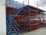 Q235B Raw Steel Metal Mezzanine Systems Pallet Rack Mezzanine Systems Medium Duty