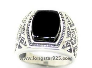 China silver rings for mens rings on sale