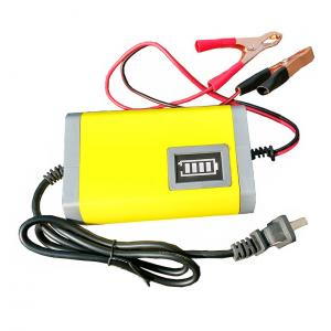 China EU/US Plug car-charger 12V Battery Charger 12V Lead Acid Battery Charger 12V Motorcycle Battery Charger 12V 6A yellow on sale