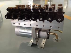 China Customized Horizontal 8 Stations 24V Hydraulic Power Units With Directional Valve on sale
