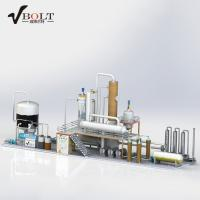 Waste Used Engine Oil Distillation Recycling To Diesel Refinery Plant