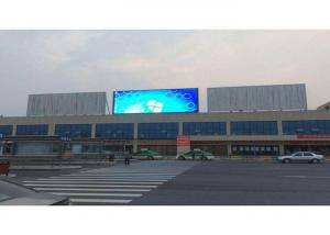 China Large Outdoor LED Screen Display , Customized Advertising Screen Display 50/60Hz on sale