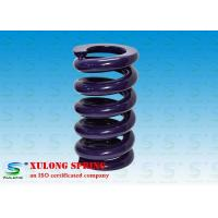 El polvo púrpura cubrió la compresión de las primaveras de la maquinaria pesada/de las primaveras de la ingeniería