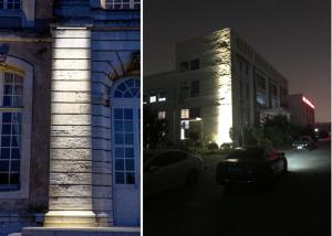 China Die Cast Aluminum Shell Waterproof DMX Led Wall Light With 50000hours Lifespan on sale
