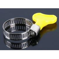China 3.8NM Holding Force SUS201 Gas Pipe Clamping American Hose Clamp on sale