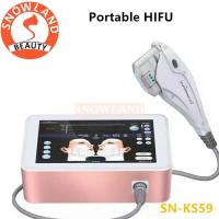 Best Result Portable HIFU Face Lift Skin Tightening Anti Aging Wrinkle Removal Machine