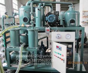 China Sistema da regeneração do óleo do transformador, purificador de óleo | Na linha tratamento do óleo | Filtração do óleo on sale