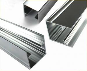 China Length Customized ,  Polished Aluminium Profile Extrusion For Doors  And  Windows on sale
