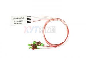 China 1X4 Mechanical Micro Optic Switch 980nm 1310nm 1550nm 850nm 1650nm Fiber Optical Switch on sale