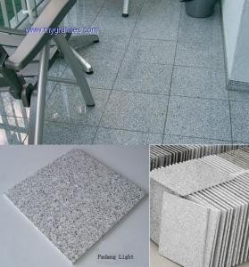 China G603 granite tile 305x305x10mm on sale