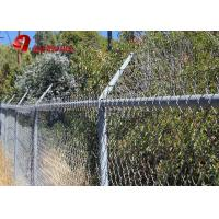 China Black Vinyl Coated Ornamental Modern Cast Iron Cheap Chain Link Fencing on sale