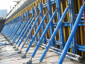 China Concrete Wall Formwork,Single side formwork, single bracket, retaining wall formwork on sale