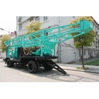 China High Speed Water Drilling Rig With Turnplate Rotary 11.6m Height Drill Tower on sale
