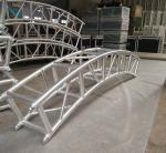 400*400mm Aluminum Alloy 6082-T6 Square Spigot Arch Lighting Truss / Aluminum Roof Truss