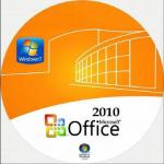 Full version Microsoft Office 2010 Professional Retail Box , office computer software