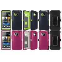 China TPE Red Ottered Outer Box Phone Cases Lightweight For HTC One on sale