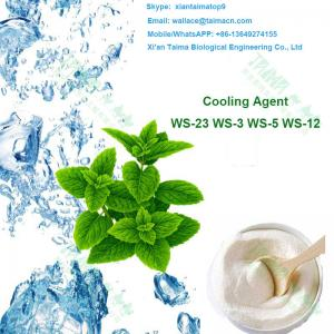 China Food USP Grade ws-23, ws-3, ws-5, ws-12 Cooling Agent White crystal powder,Koolada Flavour Enhancers 3 Years Shelf Life on sale