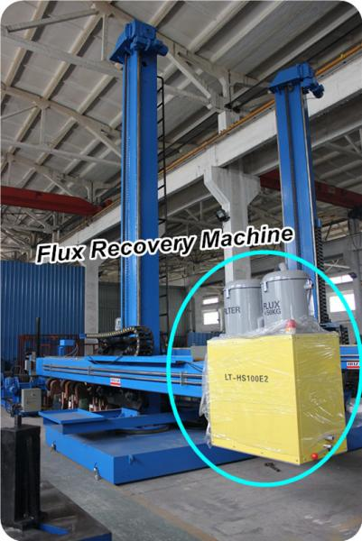 Pipe Welding Manipulator With Flux Recovery System And