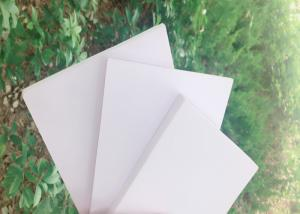 China High Strength White Rigid PVC Foam Board Corrosion Resistance For Exhibits Booths on sale