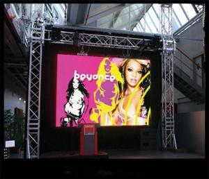 China Outdoor Rental LED Display  P3.91 Stage Rental Led Display , Led Backdrop Screen Rental on sale