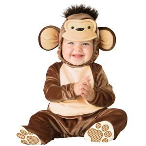 China Monkey Infant Baby Acting Costumes Halloween Baby Clothes Custom Made on sale