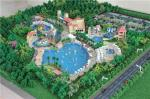 Scale Waterpark model with abs and acrylic , physical model making factory