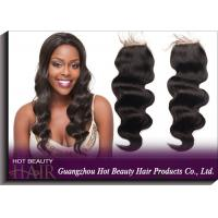 """Brazilian Lace Top Closure Natural Colored Curly Human Hair 10"""" - 18"""" Length"""