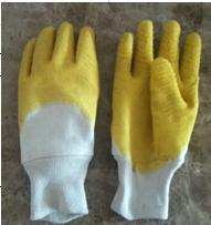 China Industiral working latex coated  gloves on sale