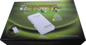 China PHS / 3G Cell Phone Signal Detector 1920-1980MHZ With 10M Detect Range on sale