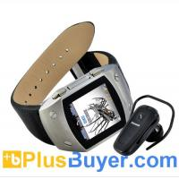 China RUSH - 1.5 Inch TFT Touchscreen Watch Cell Phone with Bluetooth Headset on sale
