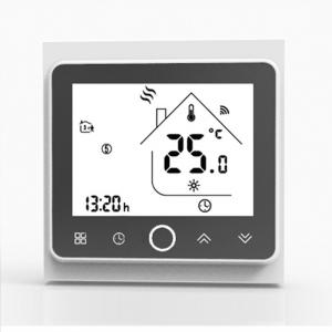 China APP WiFi Smart Thermostat Temperature Controller for Water/Electric floor Heating Water/Gas Boiler Works with Alexa on sale