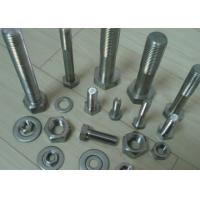 China DIN933 DIN931 S31803 Duplex Stainless Steel Hex Bolt Full Partial Thread on sale