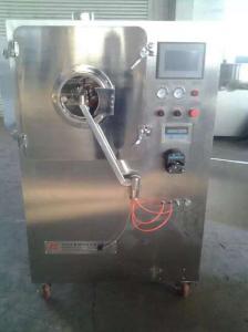 Quality 3 / máquina 5/10 de capa del pulverizador de tambor, máquina farmacéutica de la máquina de pintar de la tableta de la tecnología de la capa for sale
